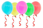 Colorful inflatable balloons — Stock Photo