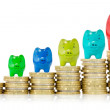 Successful financial growth — Stock Photo