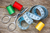 Tools for sewing  — Stockfoto