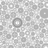 Fundo de gears3 — Vetorial Stock