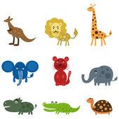 Cartoon film an animal — Stock Vector