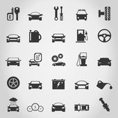 Transport icons — Vector de stock