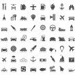 Transport icons — Vector de stock #23576461