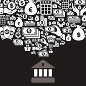 Bank — Stock Vector