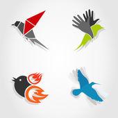 Vogels — Stockvector