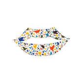 Lip made of birds — Vecteur
