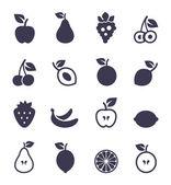 Fruit de l'icône — Vecteur