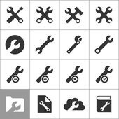 Icons of tools — Vector de stock