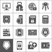 Protection an icon — Stock Vector