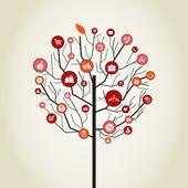 Tree sale — Vector de stock
