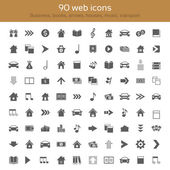 Icons collection — Stock Vector