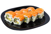Maki sushi with Salmon. — Stock Photo