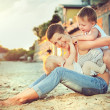 Mother and her children having fun — Stock Photo #31034489