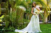 Feliz noiva linda — Foto Stock