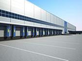 Warehouse exterior — Foto Stock
