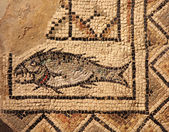 Ancient byzantine mosaic — Stock Photo