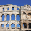 Roman amphitheater - Stock Photo