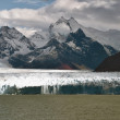 Stock Photo: various parts of the perito moreno glacier in argentine patagonia