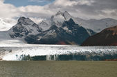 Various parts of the Perito Moreno Glacier in Argentine Patagonia — 图库照片