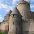 Carcassonne Castle — Stock Photo