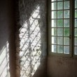 Window in old castle — Stock Photo