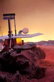 Rover on Mars — Stock Photo