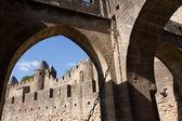 Carcassonne Castle — Stock Photo