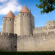 Carcassonne Castle - Stock Photo