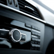 Stock Photo: Car audio system interior