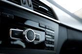 Car audio system interior — Stock Photo