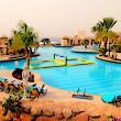 Hotel pool in Egypt — Stock Photo