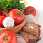 Vegetarian food isolated — Stock Photo