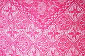 Encaje de color rosa — Foto de Stock