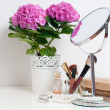 Beauty and make-up concept — Stock Photo