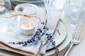 Configuração de tabela de estilo de Provence — Fotografia Stock