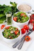 Diet vegetable salad — Stock Photo