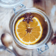 Hot winter drink — Stock Photo