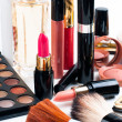 Makeup and cosmetics set — Stock Photo #36991457