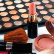 Makeup and cosmetics set — Stock Photo