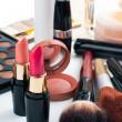 Makeup and cosmetics set — Stock Photo