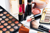 Makeup and cosmetics set — Stok fotoğraf