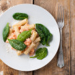 Rigatoni with seafood — Stock Photo #38808867
