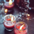 Stock Photo: Home decorations, candles
