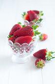 Verse aardbeien — Stockfoto