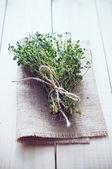 Dried herbs — Stock Photo