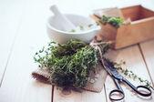 Bodegón de cocina casera — Foto de Stock