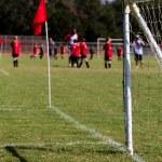 Soccer Ball Practice Field — Stock Photo #12864583