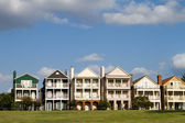 Upscale Townhomes — Stock Photo