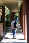 Student Walking To Class — Stock Photo