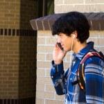 Technology Savvy Student — Stock Photo #15622895